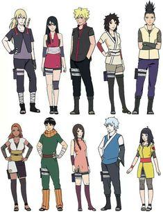 Boruto : Naruto next generations Characters