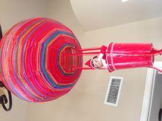 Elf on the Shelf balloon ride.