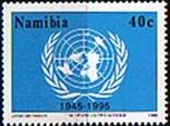 Namibia 1995 United Nations Fine Mint    SG 676 Scott 792    Other African and British Commonwealth Stamps HERE!