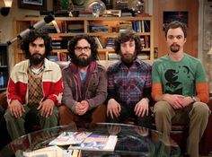 The Big Bang Theory just returning from the North Pole