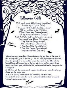 Love themed recipe cards and Halloween? Well, here is the place to find the best free recipe card templates for your Halloween treats.    These...