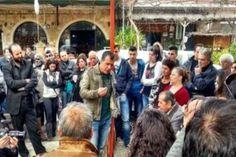 """""""Φοβίσαμε όλους αυτούς που τόσα χρόνια μας φοβίζουν""""-Ολόκληρη η ομιλία του Σταύρου Θεοδωράκη στην Κρήτη Interview"""