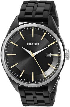 Nixon Women's A9342126 Minx Analog Display Swiss Quartz Black Watch >>> More info could be found at the image url.