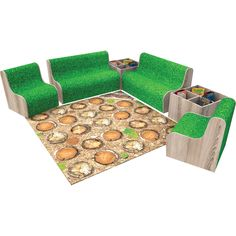 Give your library or classroom an on trend al fresco vibe by putting together a custom woodland reading corner with artificial grass covered seats, kinderboxes and reversible rugs. Small seat - 650mmW x 650mmD x 390mm seat height Large seat - 1300mmW x 650mmD x 390mm seat height Corner KInderbox - 650mmW x 650mmD x 450mmH Put Together, Fresco, Woodland, Grass, Corner, Classroom, Interiors, Reading, Products