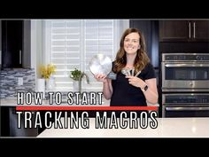 How to start tracking MACROS - YouTube Wellness Tips, Health And Wellness, Health Fitness, Group Fitness, Fitness Tips, Tracking Macros, Healthy Habbits, Macro Friendly Recipes, Workout Meal Plan