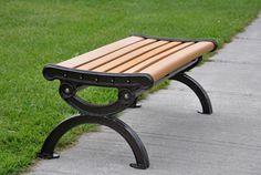 outdoor composite benches