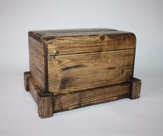 I wanted to see if it was possible to build a box like this, with all its tight…