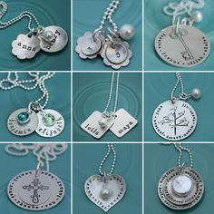 The Vintage Pearl...personalized hand-stamped jewelry.  Lovely!