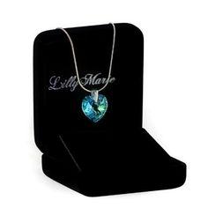 Eine Silberkette aus 925 Silber mit original Swarovski® Elements Herz Anhänger, blau, 14 mm http://www.geschenkewebshop.info/produkt/eine-silberkette-aus-925-silber-mit-original-swarovski-elements-herz-anhaenger-blau-14-mm-mit/