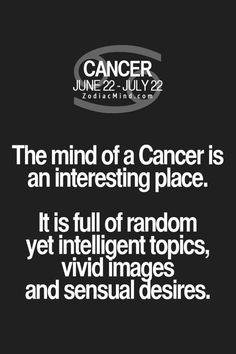 2675 Best Cancerian Quotes images in 2019 | Cancerian ...