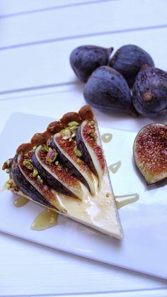 trozo-tarta-de-higos Fig Recipes, Chocolate Ice Cream, Tea Time, Delicious Desserts, Deserts, Sweets, Cookies, Quinoa, Coffee