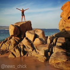 Seize the day at Land's End in Cabo. Photo by @ lantelavision for @ news_chick.