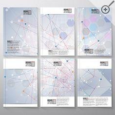 Brochure or flyer tamplates by VectorShop on Creative Market