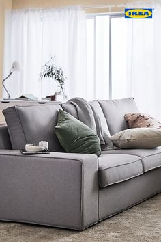 Love at first seat. Save on all soft seating at the IKEA Living Room Seating Event from now until April 30th.