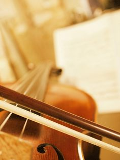 "Looking at a violin, you would say ""it's so hard to play! I mean, look at me! I suck!"". But you see, when you look through the music, it's not you adjusting to the music. It's the music adjusting to you. ♥"