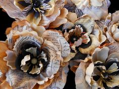 silk flower crafts - Google Search