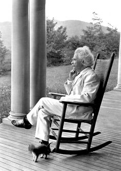 Samuel Langhorne Clemens, better known by his pen name Mark Twain, was an American author and humorist and adored cats as well. Mark Twain, Henry Miller, We Will Rock You, Jack Kerouac, Book Writer, Ernest Hemingway, Special People, Famous People, Famous Men