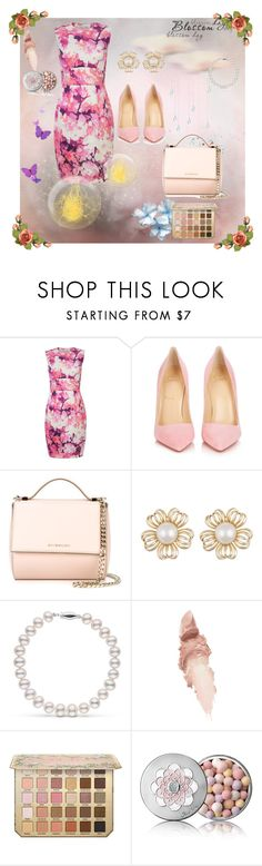 """""""The best spring dress"""" by pengy-vanou ❤ liked on Polyvore featuring Christian Louboutin, Givenchy, Maybelline, Guerlain and THEBESTDRESS"""