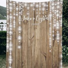 You'll love the Wedding Backdrop at Wayfair - Great Deals on all Décor & Pillows products with Free Shipping on most stuff, even the big stuff. Fall Wedding, Dream Wedding, Garden Wedding, April Wedding, Wedding Church, Gothic Wedding, Glamorous Wedding, Wedding Stuff, Outdoor Wedding Decorations