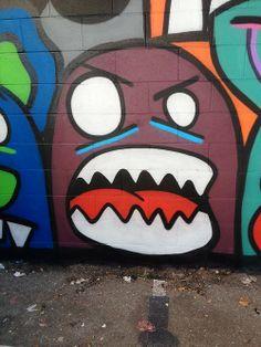 Reggie Warlock street art: oakland