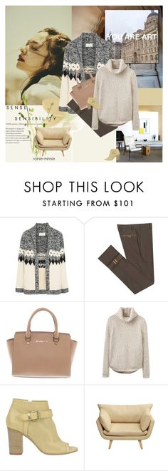 """Creme de la creme"" by rainie-minnie ❤ liked on Polyvore featuring The Great, Diverso, Michael Kors, Joules, Manas and Ink & Ivy"