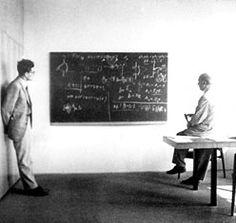Werner Heisenberg's desk