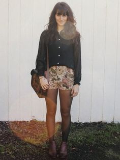 How To Wear Shorts With Tights - Best Shorts For Holiday Parties - Seventeen
