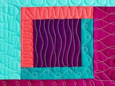 Using squares as your guidelines, your quilting options are nearly endless! Discover 13 quilting designs that work perfectly inside square sections.