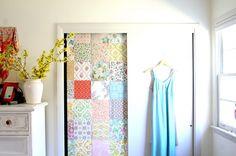 papeles pintados en armarios