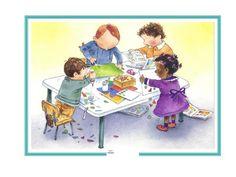 Daily Schedule Preschool, Preschool Kindergarten, Wood Elf, Classroom Organisation, Classroom Ideas, School Clipart, School Sports, Reggio Emilia, Clip Art