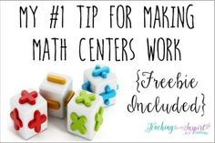 Easy Prep Math Centers: Roll and Answer Games {Freebies} - Teaching to Inspire with Jennifer Findley