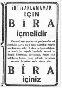 1930 lu yıllardan birinde Cumhuriyet gazetesinde yayınlanmış. Voronoff aşısı o zamanlar revaçta olan bir ölümsüzlük aşısı. Maymun testislerinden alınan sıvıyı insanlara naklediyorlarmış.