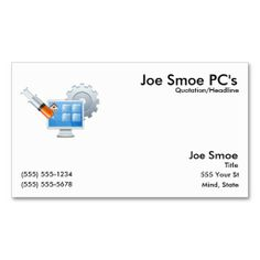 PC Shot Business Card