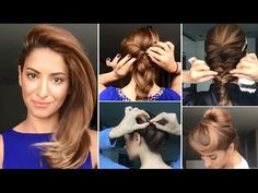 Easy Roman Hair Style One Minute Tutorials by Sarah Angius - YouTube