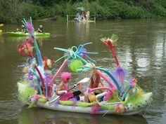 """RiverFest - """"anything that floats parade"""" asheville - Google Search"""