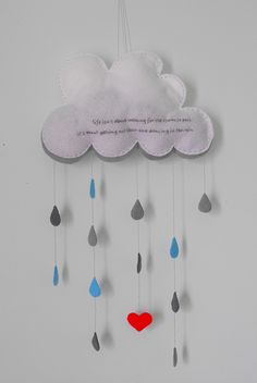 Cloud Mobile for Baby Room