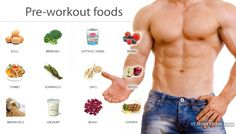 Pre-Workout Foods - Healthy Fitness Power Energy Egg Broccoli Ab - PROJECT NEXT - Bodybuilding & Fitness Motivation + Inspiration