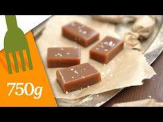 Recette de Caramels mous au beurre salé - 750 Grammes - YouTube