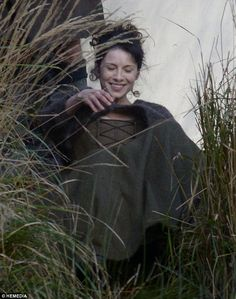 Photos of Filming of Outlander - Claire