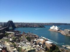 Quay West Suites #Sydney #Australia: View from the pool deck