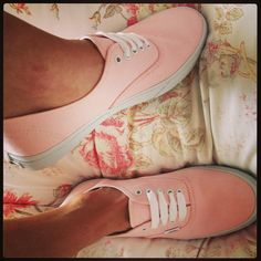 Twitter / Alice_Katee: Love my very first pair of #Vans Cant wait for summer now! #pastel #pink Thank you @Jessica Sutton Schuh for fast delivery