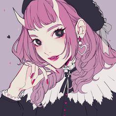 vacuum up illustration art anime Arte Do Kawaii, Kawaii Art, Pretty Art, Cute Art, Aesthetic Art, Aesthetic Anime, Anime Shop, Wow Art, Digital Art Girl