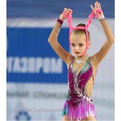 Daria Sergaeva, Russia, junior rope in #rhythmic_gymnastics