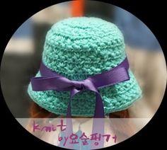 베이비돌 소품 스타스티치 벙거지모자 뜨기(도안) : 네이버 블로그 Doll Clothes, Winter Hats, Crochet Hats, Dolls, Clothing, Fashion, Knitting Hats, Baby Dolls, Outfits