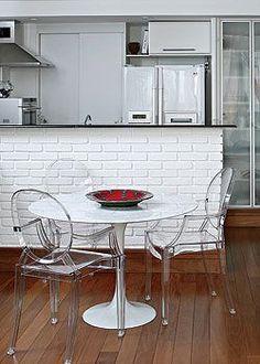 balcão cozinha tijolo a vista - Pesquisa Google