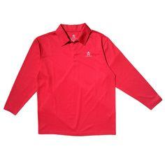 powerthread anti UV antibacterial Red Polo #RedPolo #Powerthread #Style