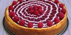 Vanilkový cheesecake s malinovo levanduľovým želé - Tinkine recepty