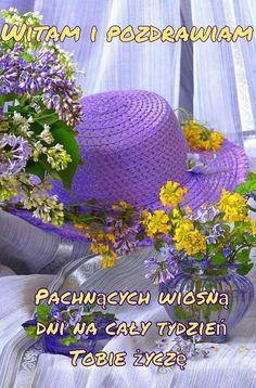 Good Morning, Crochet Hats, Flowers, Buen Dia, Knitting Hats, Bonjour, Good Morning Wishes