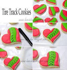 Haniela's: ~Tire Track Cookies Tutorial~