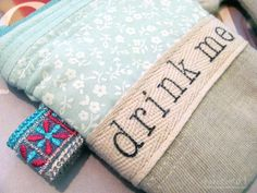 Bakercourt - Knitting, Sewing, Crafting.: How to stamp on fabric